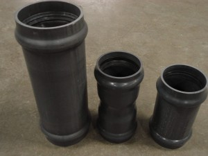 PVC slip couplings