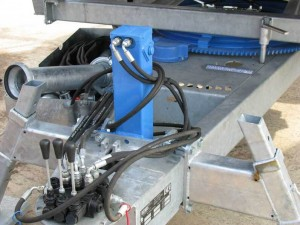 hydraulic drawbar